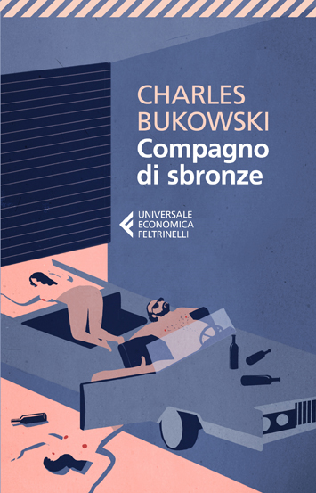 Emiliano Ponzi, Compagno di sbronze, 2012 (copertina per Feltrinelli)