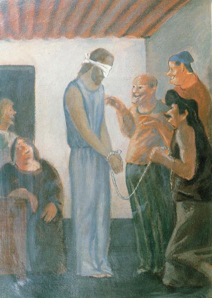 Aldo Carpi, Cristo deriso, 1942
