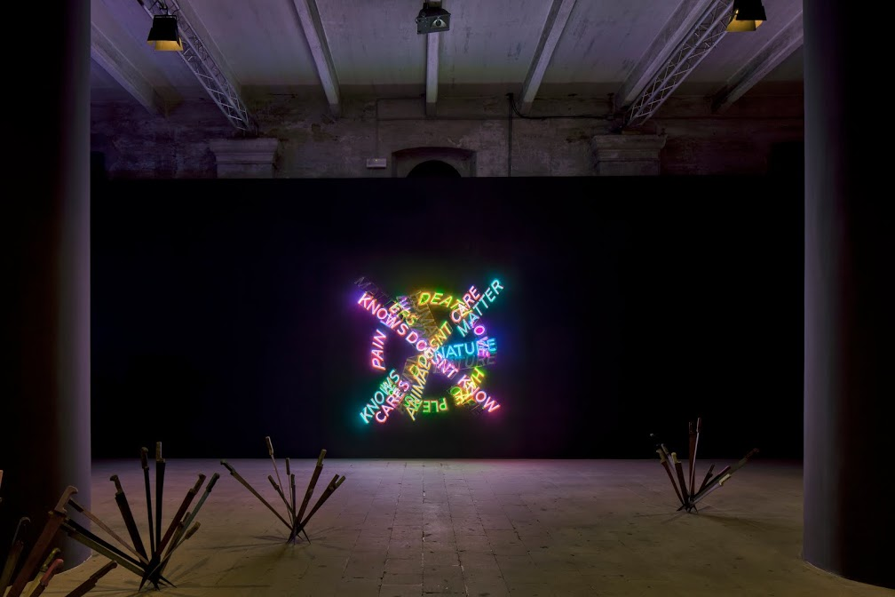 Bruce Nauman, Knows Doesn't Know, 1983.
