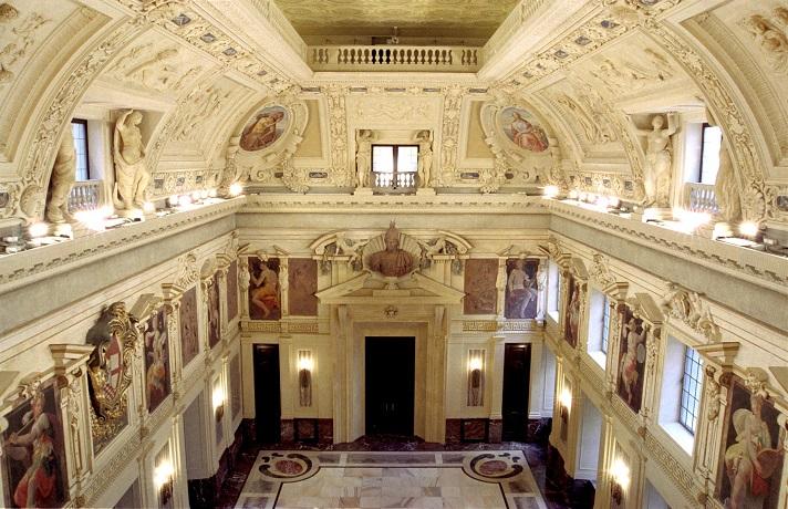 Palazzo Marino, Sala Alessi. Courtesy Palazzo Marino