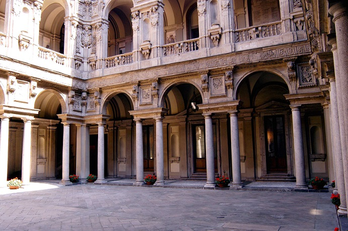 Palazzo Marino, cortile. Courtesy Palazzo Marino