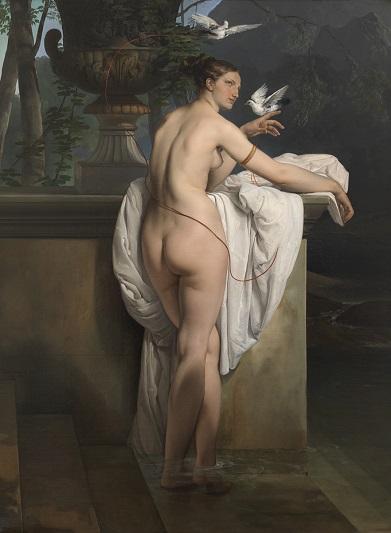 Francesco Hayez, Venere che scherza con due colombe, 1830. Courtesy Gallerie d'Italia
