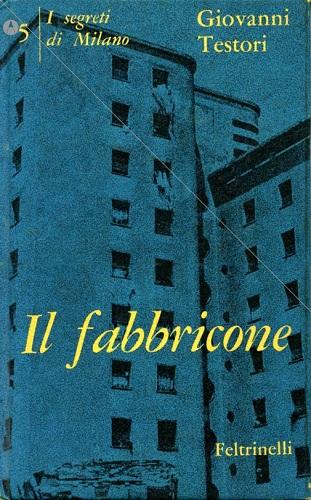 Albe Steiner, copertina di Il fabbricone di Giovanni Testori, 1963