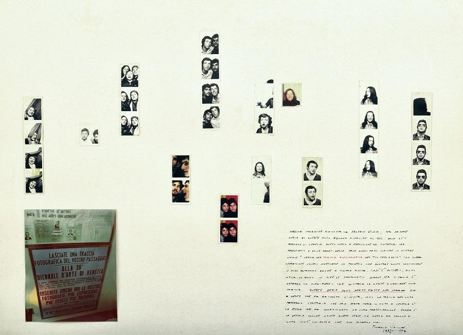 Franco Vaccari, Photomatic, 1972