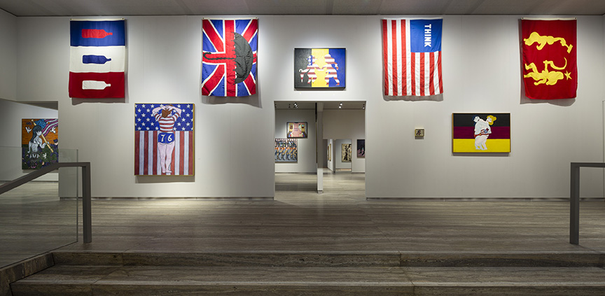 "1 2 3 4 5 6 7 8 PrevNext ""William N. Copley"". Immagine della FLAGS ROOM. Foto Roberto Marossi. Courtesy Fondazione Prada"