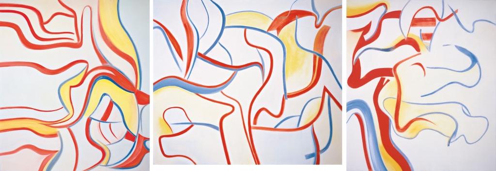 Willem de Kooning, Tryptich, 1985