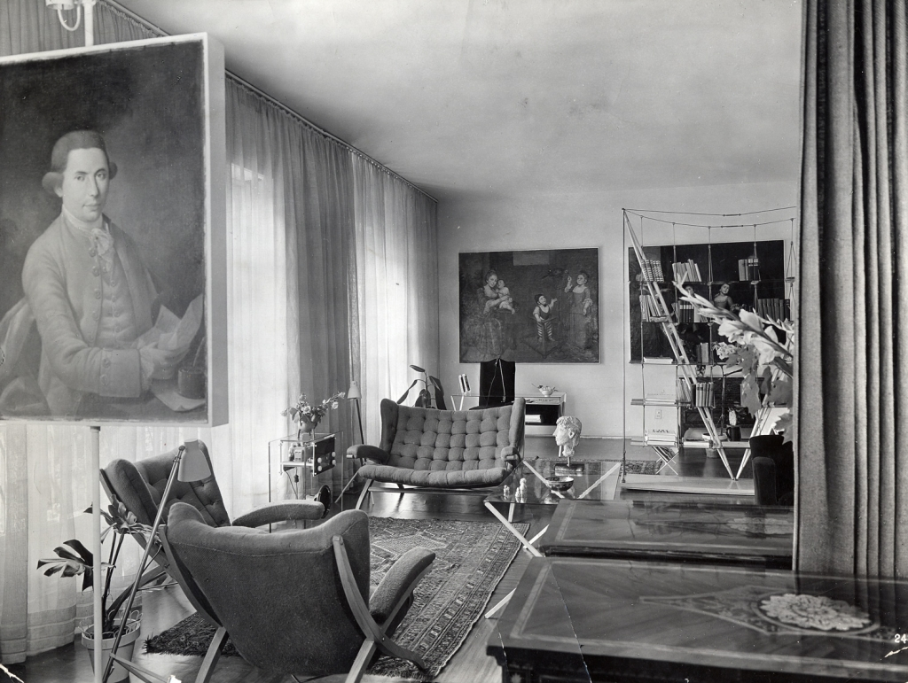 Anni '30 – L'appartamento in via Togni di Albini: mobili d'epoca e razionalismo