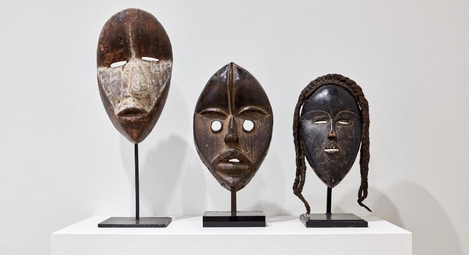 Maschere della Costa d'Avorio.