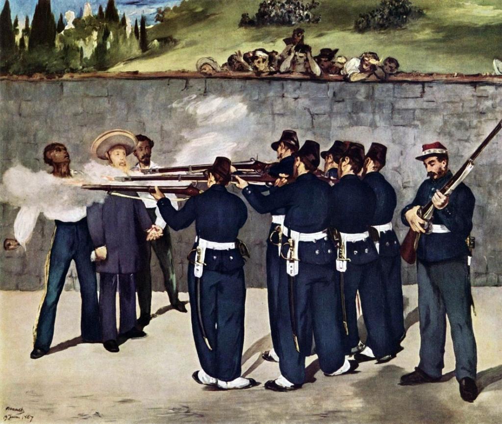 manet-fucilazione-esecuzione-imperatore-massimiliano-messico