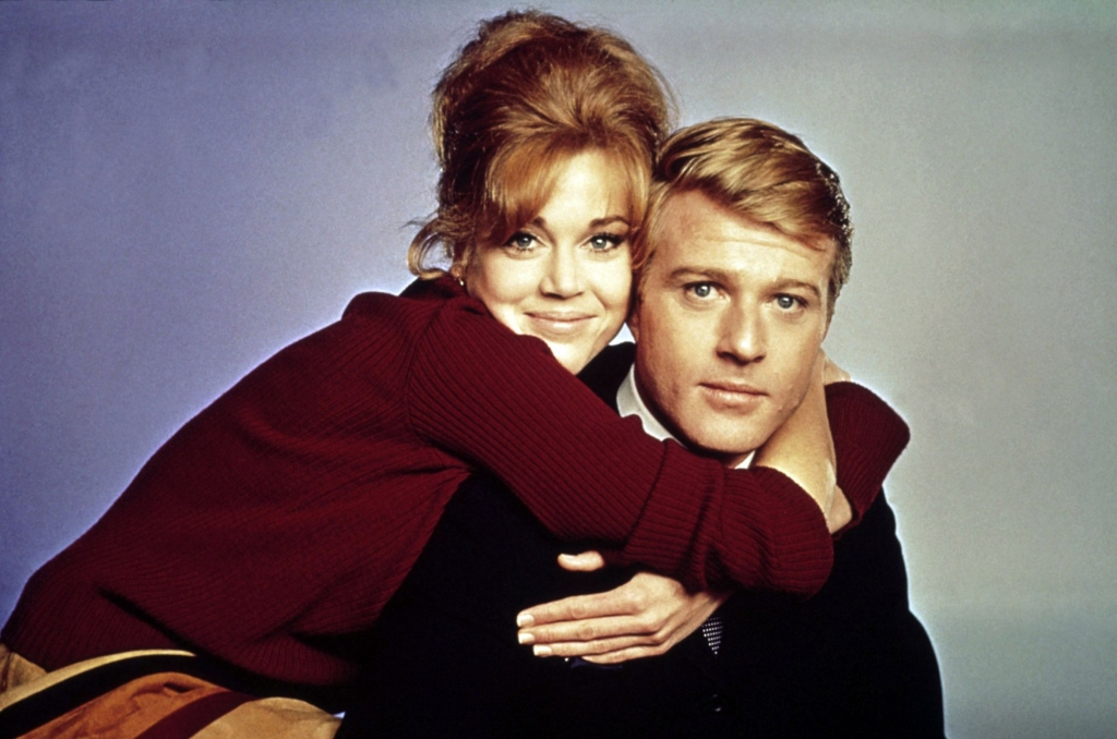Robert Redford e Jane Fonda